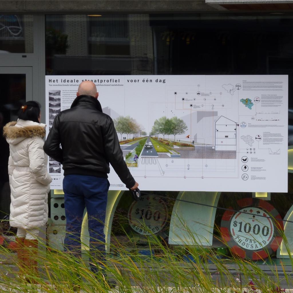 Het ideale straatprofiel voor één dag - een manifest tegen het verharde en versteende Vlaanderen