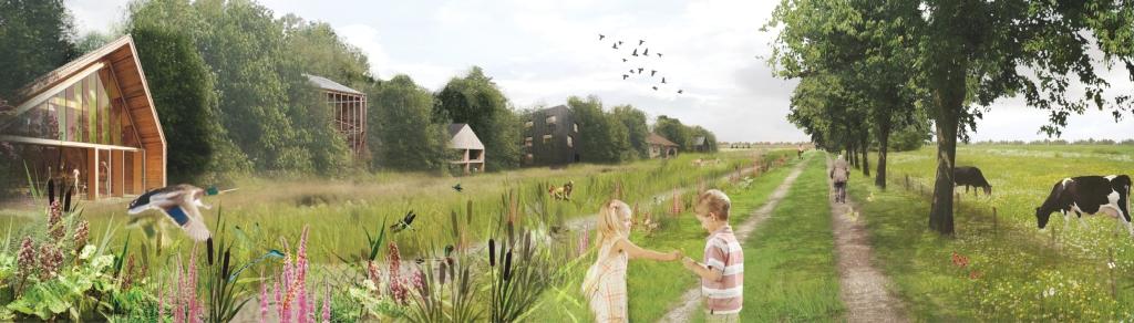 boswonen - nieuw woonlandschap als schakel tussen dorp en rivierlandschap