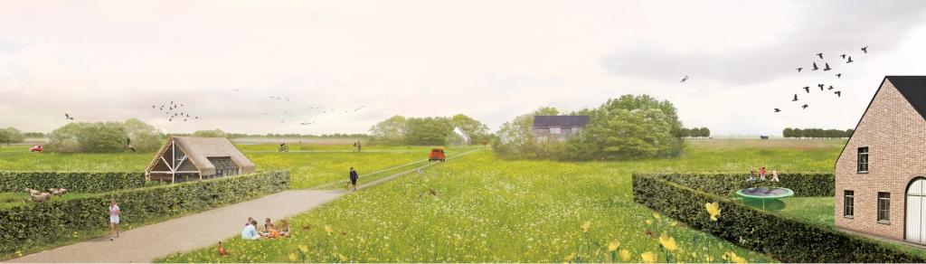 erfwonen - nieuwe woningen geven het achterliggende landschap opnieuw betekenis