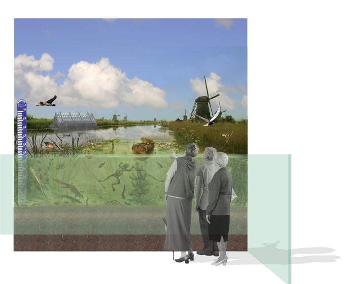 Kinderdijk collage